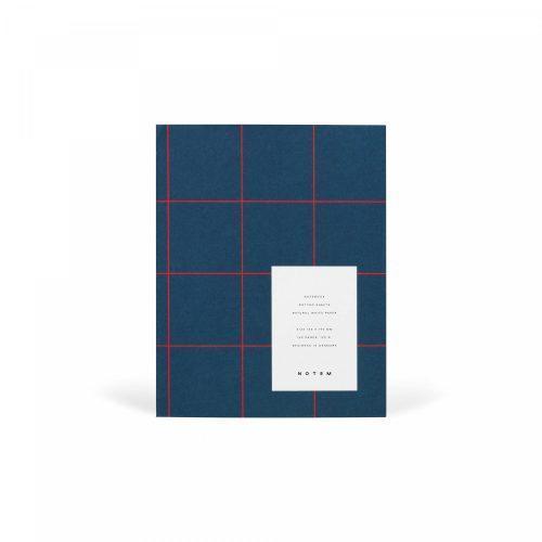 UMA Medium dark blue_Front quaderno minimal dotted a5
