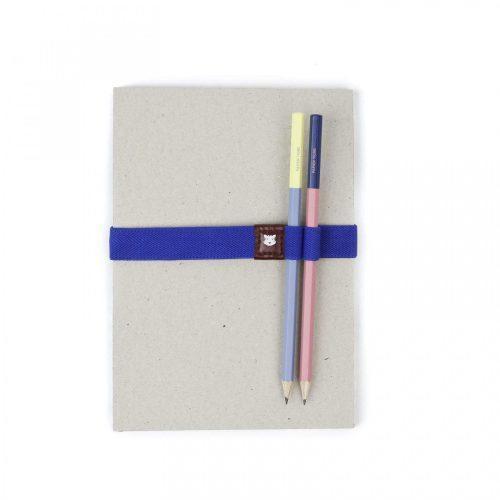 Elastico porta penne Blu