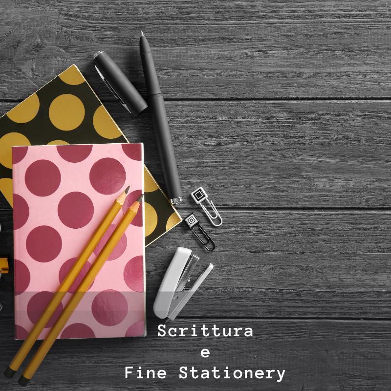 Scrittura e Fine Stationery con banda